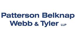 Paterson Belknap Webb and Tyler logo