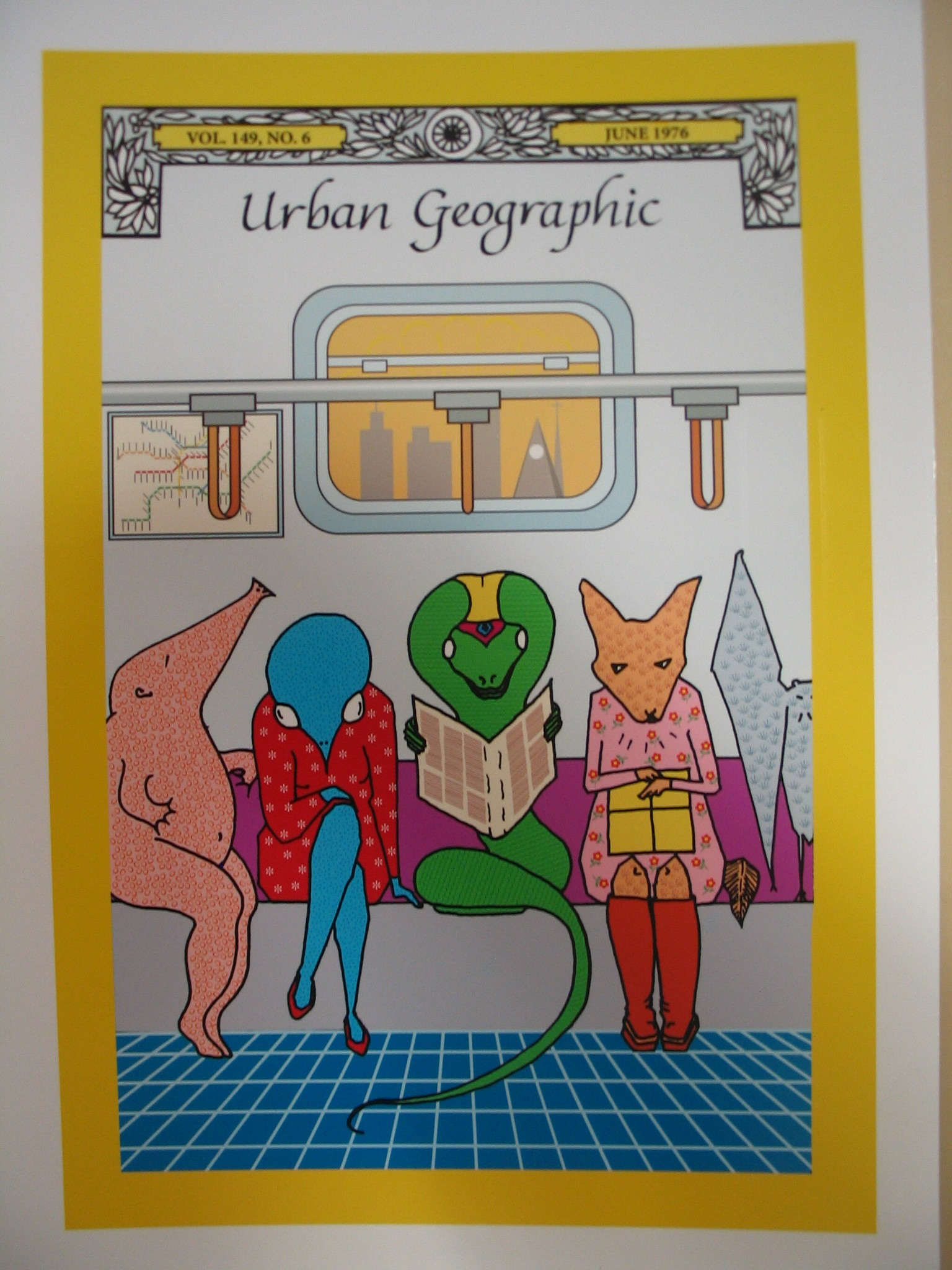 Urban Geographic, 2014