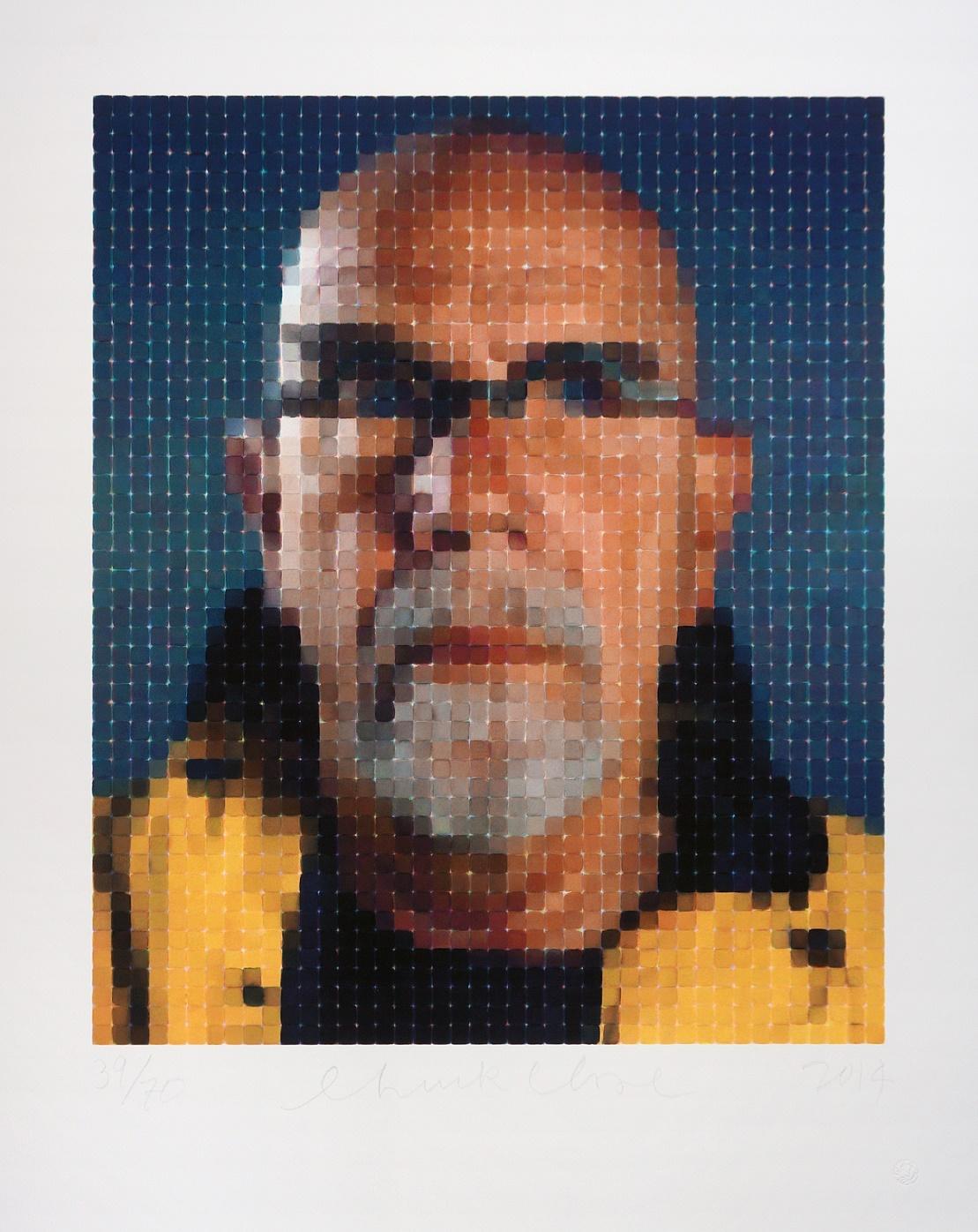 Self-Portrait (Yellow Raincoat), 2013