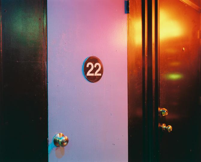Door #22, Peep Show, Calif., 2005