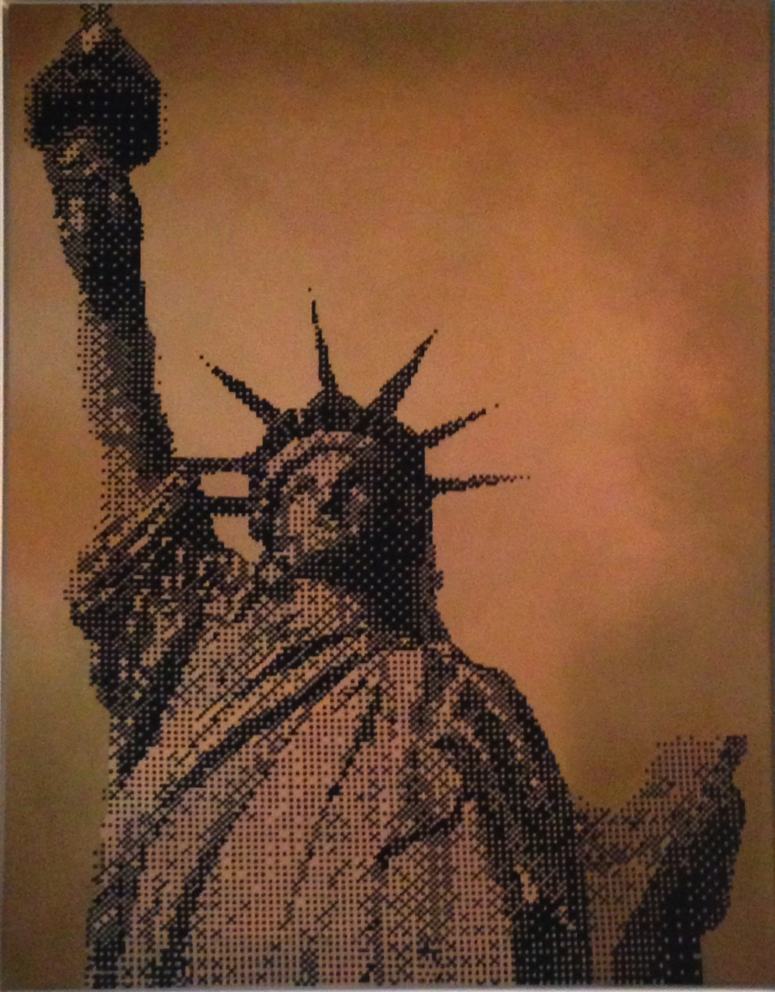 Untitled (Statue of Liberty), 2013