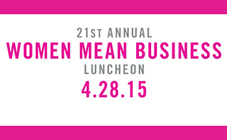 Women Mean Business Luncheon 2015