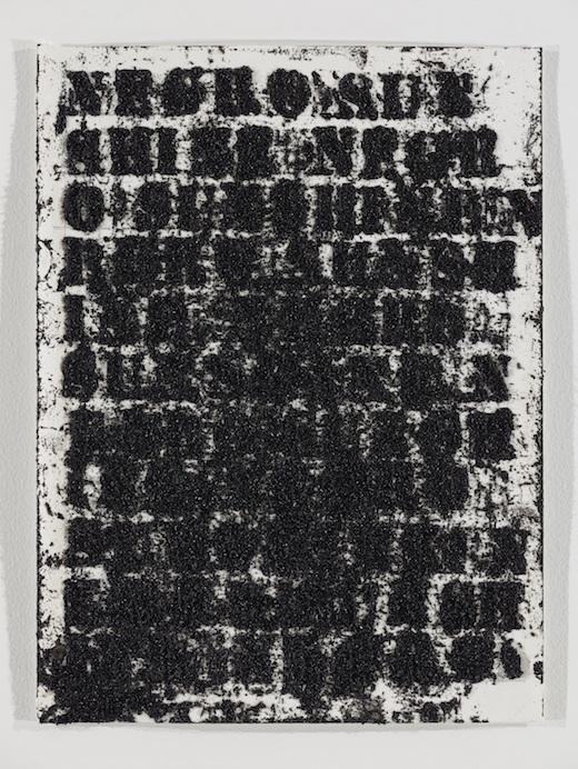 Study for Negro Sunshine # 103, 2012