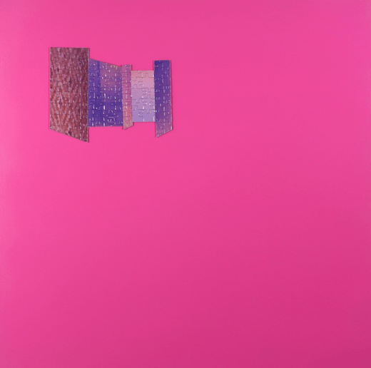 Untitled (Pink Puzzle), 2015
