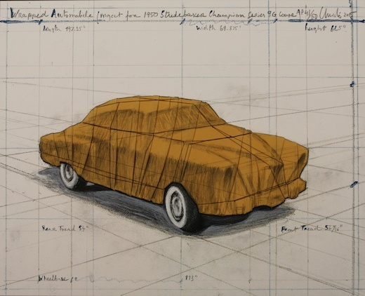 Wrapped Automobile (Project for 1950 Studebaker Champion Series), 2015