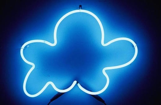 "Pom-Pom Cloud #1: ""to ward off destruction of lightning,"" 2012"