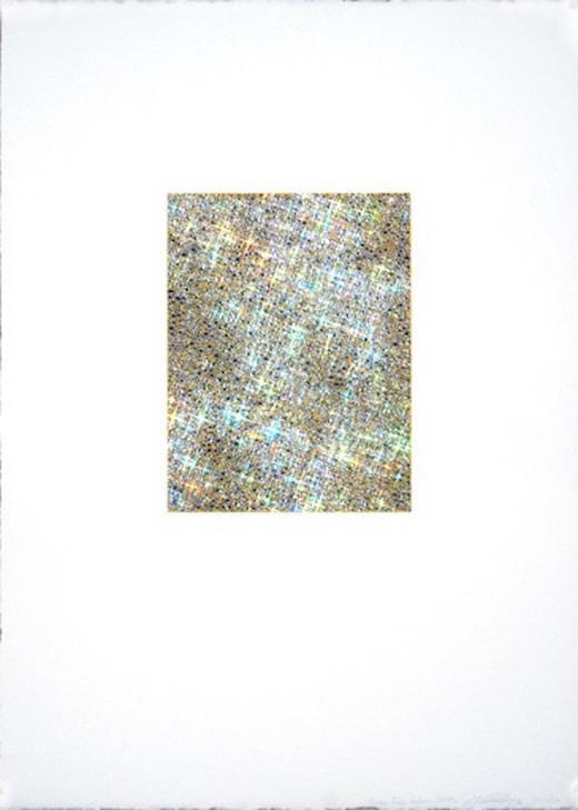 Yellow False Colour Mirror, 2009