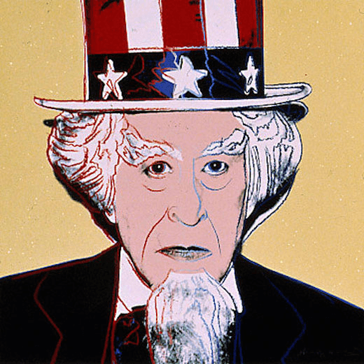 Uncle Sam, from Myths (F. & S. IIB.259), 1981