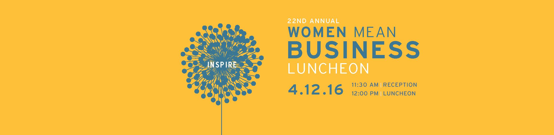 Women Mean Business Luncheon 2016