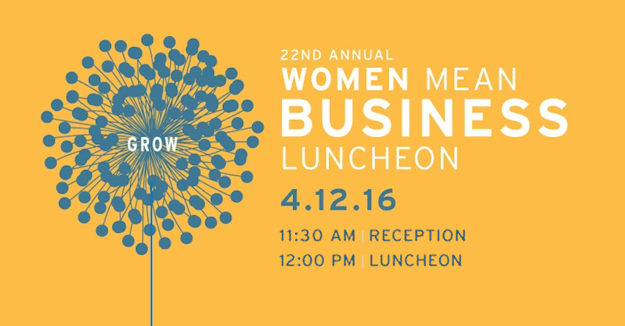 Women Mean Business Luncheon 2016