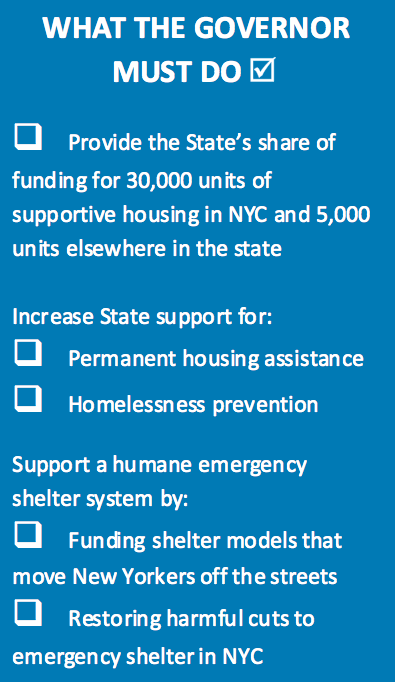 A state blueprint for ending homelessness what governor cuomo must a state blueprint for ending homelessness what governor cuomo must do to help end new yorks homelessness crisis malvernweather Image collections