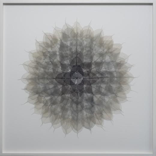 Grey Black Mandala, 2016