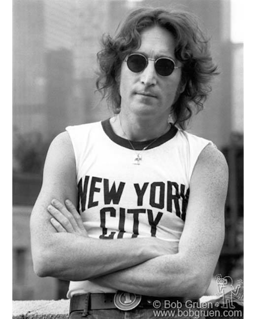 John Lennon, NYC T-shirt, NYC, 2015