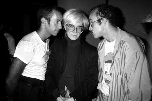 Kenny Scharf, Andy Warhol, Keith Haring at Elizabeth's Saltzman's Birthday at Il Cantinori, June 16, 1986, 2001