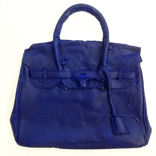 Homemade Hermes Birkin Bag (IKB), 2016