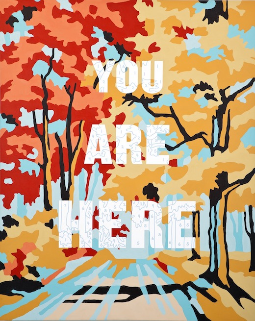 You Are Here, 2016