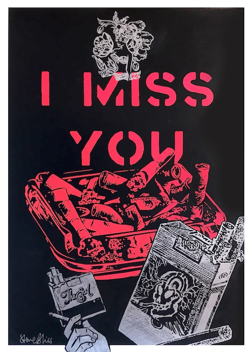 I Miss You (Ashtray), 2017