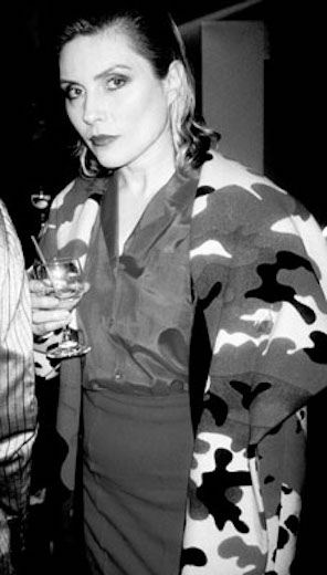 Debbie Harry at Stephen Sprouse Store Opening, 1989