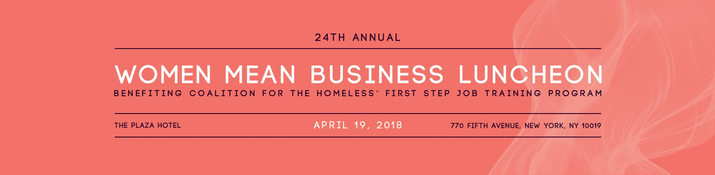 Women Mean Business Luncheon 2018