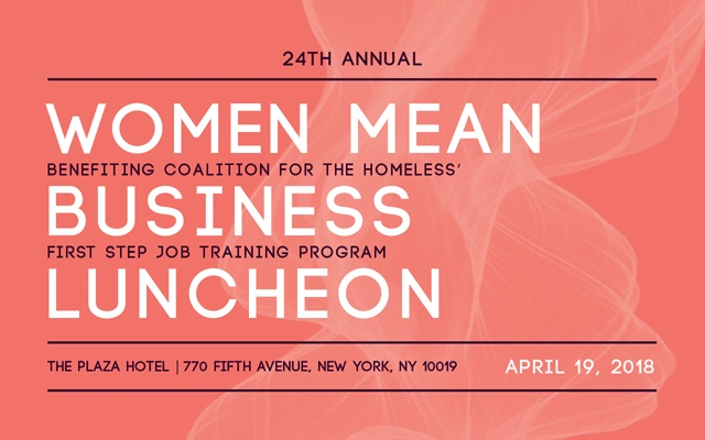 Women Mean Business Luncheon 2018
