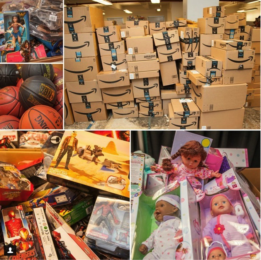 Toys For The Homeless : Thank you for our most successful holiday toy drive ever