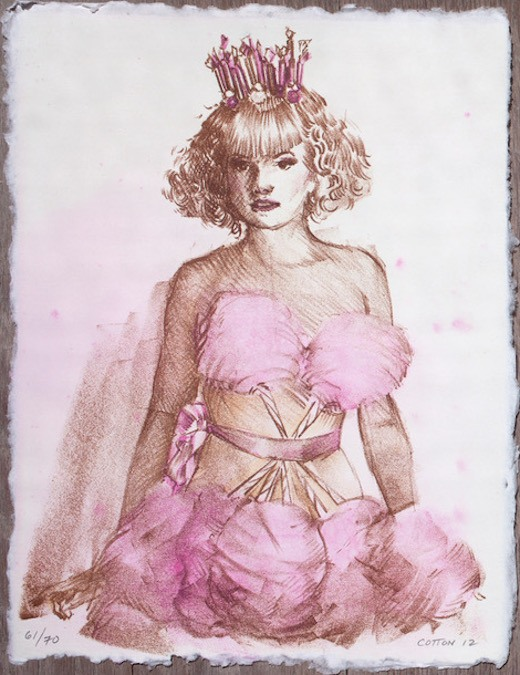Cotton Candy Dress, 2012