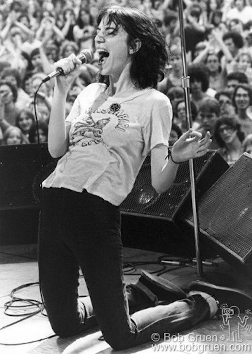 Patti Smith, Central Park, NYC, 1976