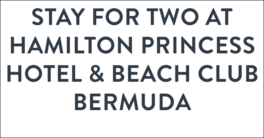 Stay for Two at the Hamilton Princess Hotel & Beach Club, Bermuda