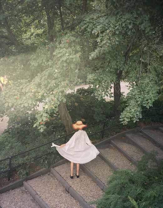 Hikari in Central Park, New York, 2018