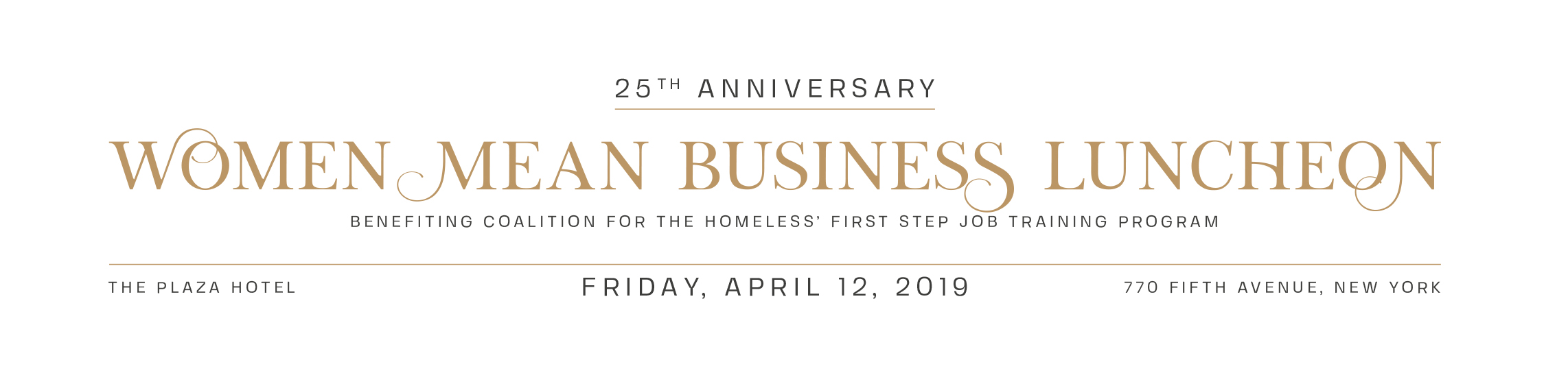 Women Mean Business Luncheon 2019