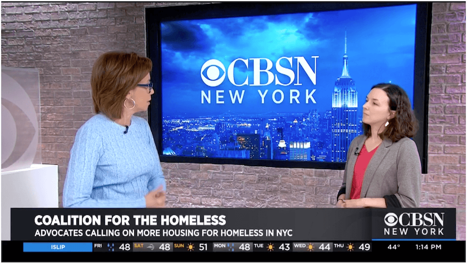 CFH Policy Director Giselle Routhier on CBSN New York