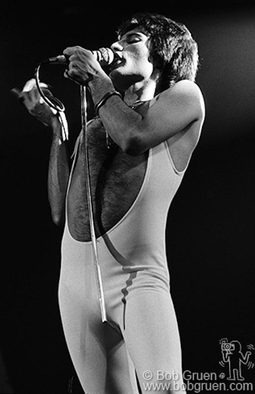 Freddie Mercury, MSG, NYC - 1977, 1977