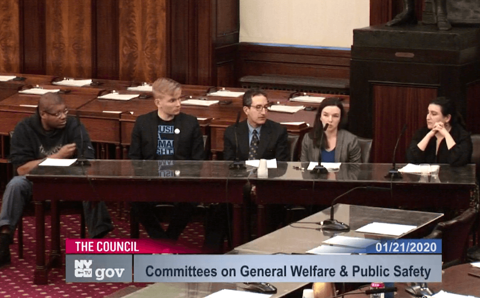 CFH Policy Director Giselle Routhier Testifying before the NYC Council