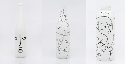Bottles: CY019, 2017; 5002, 5005, 2019